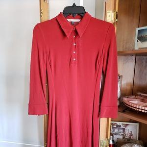 Diane von Furstenberg red dress 4